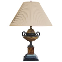 Wildwood Lamps Atia Table Lamp in Aged Verdi 65096
