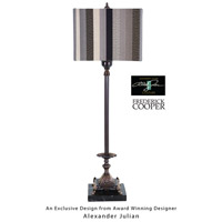 Wildwood Lamps Sartoria Table Lamp in Antique Brass 65100