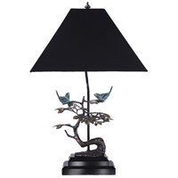 Frederick Cooper by Wildwood Lamps Frolic Table Lamp in Verdi And Hand Rubbed Bronze 65104