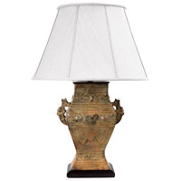 Frederick Cooper by Wildwood Lamps Illyria Table Lamp in Square Handled Urn Rustic Finish 65105