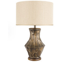 Wildwood Lamps Fractura Bronze Table Lamp in Bronze Finish 65127