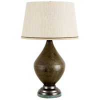 Wildwood Lamps Stromboli Table Lamp in Green Finish 65128