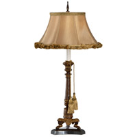 Frederick Cooper by Wildwood Lamps Jack Be Nimble III Table Lamp in Mottled Brown Finish 65129