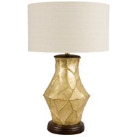 Wildwood Lamps Fractura Oro Table Lamp in Gilded Gold Finish 65133