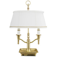 Bartemius 16 inch 40 watt Antique Brass Table Lamp Portable Light