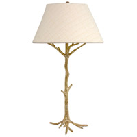 Wildwood Lamps Sprigs Affirmation Table Lamp in Antique White Finish 65140