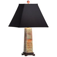 Wildwood Lamps Emperors Poem Table Lamp in Red Jade Finish 65147