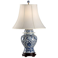 Wildwood Lamps Indigo Garden Table Lamp in Blue And White 65150