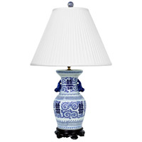 Frederick Cooper by Wildwood Lamps Double Happiness Table Lamp in Hand Painted Characters 65153
