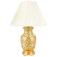 Wildwood Lamps Ava Table Lamp in Gold On Celadon 65157 photo thumbnail