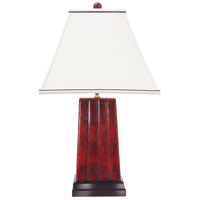 Frederick Cooper by Wildwood Lamps Imperial Mentor Table Lamp in Oxblood Jade 65163