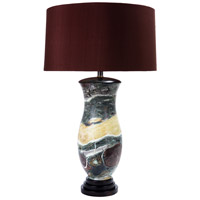 Frederick Cooper by Wildwood Lamps Brooks Table Lamp in Multi-Toned Marble 65166