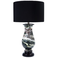 Wildwood Lamps Ellsworth Table Lamp in Multi-Toned Marble 65167