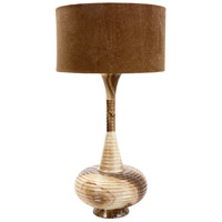 Wildwood Lamps Aladdins Home Table Lamp in Caramel Marble 65179