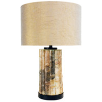 Wildwood Lamps Lao Table Lamp in Green Jade Stone 65185 photo thumbnail