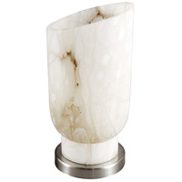 Frederick Cooper by Wildwood Lamps Casper Table Lamp in White Alabaster 65186