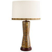 Wildwood Lamps Kairos Table Lamp in Green Stone 65188 photo thumbnail