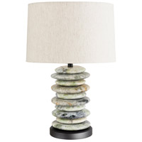 Wildwood Lamps Cambria Table Lamp in Green Stone 65189