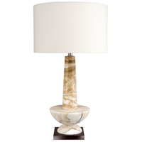 Wildwood Lamps Alsab Table Lamp in Caramel Marble 65190