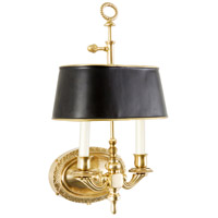 Demetrius Antique Brass Sconce Wall Light