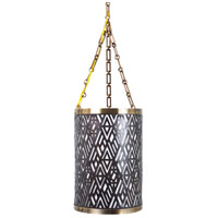 Wildwood Lamps Speakeasy II Hanging Lantern in Antique Brass And Bronze 65203