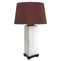Wildwood Lamps Uptown Nickel Table Lamp in Satin Nickle Finish 65230