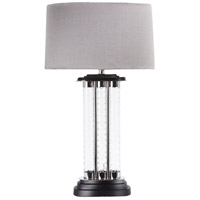 Wildwood Lamps Alexander Table Lamp in Shiny Nickel And Black 65234