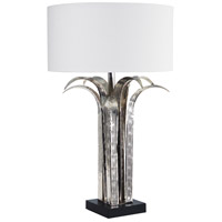 Wildwood Lamps Marquise Table Lamp in Shiny Nickel Finish 65235