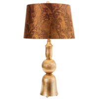Wildwood Lamps Mulholland Drive I Table Lamp in Antique Brass 65241