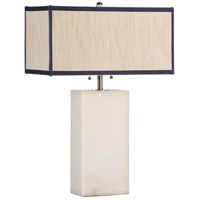 Wildwood Lamps Rothko Table Lamp in White Alabaster 65259