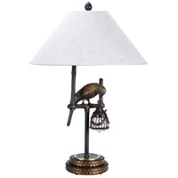 Wildwood Lamps Polly by Night I Table Lamp in Dark Brown Finish 65261-2