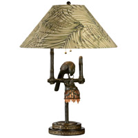 Wildwood Lamps 65261 Polly by Night 30 inch 150 watt Dark Brown Table Lamp Portable Light photo thumbnail