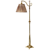 Wildwood Lamps Savannah II Floor Lamp in Antique Brass 65266-2