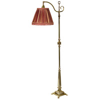 Wildwood Lamps Savannah II Floor Lamp in Antique Brass 65266-3