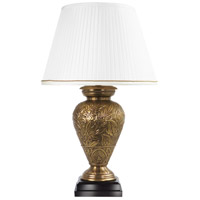 Wildwood Lamps Dominea Table Lamp in Antique Brass 65267