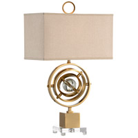 Wildwood 65486 Frederick Cooper 29 inch 100 watt Antique Brass Table Lamp Portable Light, Frederick Cooper