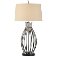 Wildwood 65522 Frederick Cooper 39 inch 100 watt Nickel Table Lamp Portable Light, Frederick Cooper