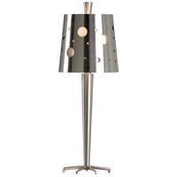 Wildwood 65537 Frederick Cooper 28 inch 60 watt Brushed Nickel Table Lamp Portable Light Frederick Cooper