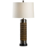 Wildwood 65589 Frederick Cooper 33 inch 100 watt Bronze Table Lamp Portable Light, Frederick Cooper