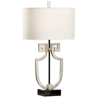 Wildwood 65633 Frederick Cooper 31 inch 100 watt Antique Silver Leaf Table Lamp Portable Light Frederick Cooper