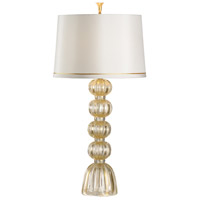Wildwood 65638 Frederick Cooper 37 inch 100 watt Gold Flecked/Clear Table Lamp Portable Light, Frederick Cooper