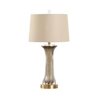 Wildwood 65678 Frederick Cooper 32 inch 100 watt Clear/Coffee Table Lamp Portable Light Frederick Cooper