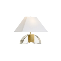 Clear Crystal Frederick Cooper Table Lamps