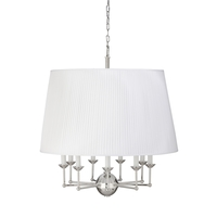 Wildwood White/Polished Nickel Chandeliers