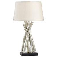 Raymond Waites 31 inch 100 watt Silver- Artemis Design Table Lamp Portable Light