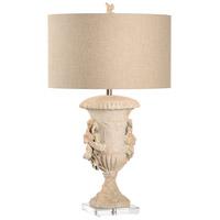 Wildwood 66834 Raymond Waites 32 inch 100 watt Textured Matte- Artemis Design Table Lamp Portable Light