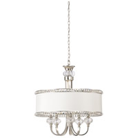 Frederick Cooper by Wildwood Lamps Raymond Waite Design 5 Light Chandelier in Nickel 66835