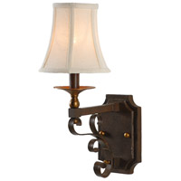 Wildwood Lamps Signature Sconce in Old Bronze Patina On Iron 67017