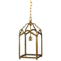 Wildwood Lamps Lantern Pendant in Antique Patina 67025