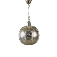 Wildwood Lamps Discovery 1 Light Pierced Ball Pendant Hand Made And Finished Pendant in Hand Made Anded 67029